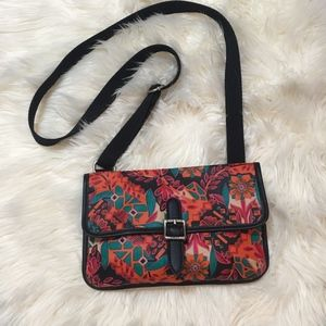 Fossil Floral Print Crossbody Purse
